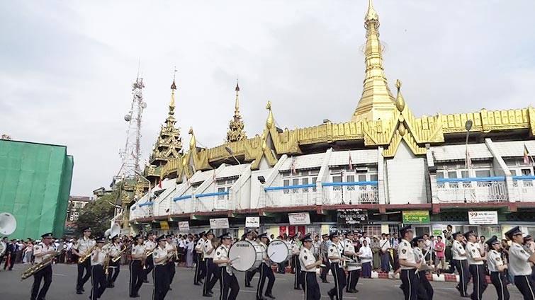 世界のお巡りさんコンサート in ミャンマーのサムネイル