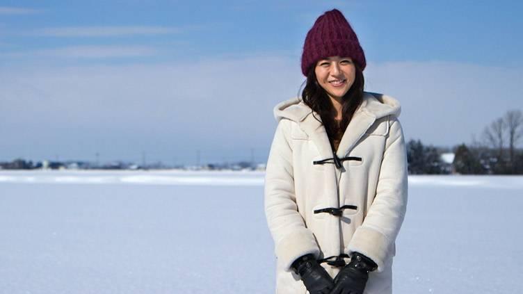 白石美帆が行く!北海道 笑顔の里を巡る旅のメインビジュアル