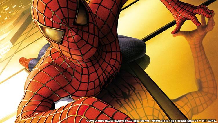 BS12 開局10周年特別企画「スパイダーマン」3作品一挙放送のメインビジュアル