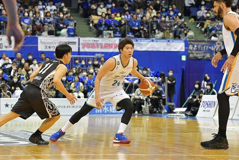 クライアントの1人、髙橋耕陽選手は今季滋賀から三河へ移籍。ポテンシャルの高い選手だ