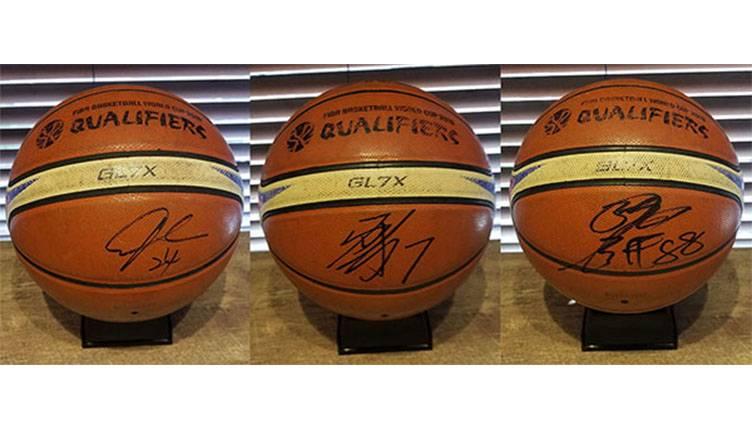 番組をみて男子バスケットボール日本代表候補選手サイン入りボール&Tシャツを当てよう!!「BS12水曜バスケ!」プレゼントキャンペーン!!のサムネイル