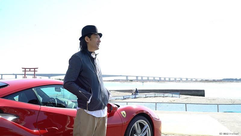 2017年3月31日(金)よる7時から放送開始 「『未来愛車』~12th future Ferrari 488 GTB~」 ~写真家・若木信吾、ドキュメンタリー番組BS初出演~のサムネイル