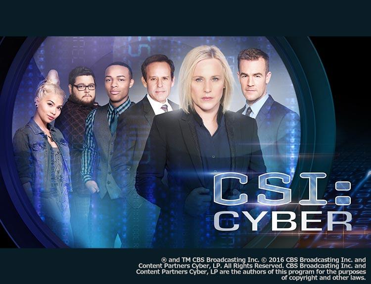 ドラマ「CSI:サイバー シーズン 1」のメインビジュアル