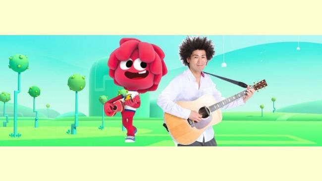 子供たちに大人気の谷本賢一郎(たにけん)さんが歌う!『ジェリージャム』の日本語版主題歌「Let's go together」がBS12トゥエルビで2月1日から登場!のサムネイル