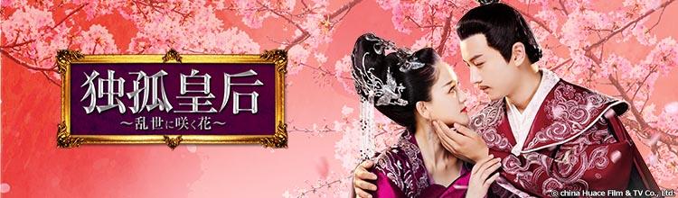 中国ドラマ「独孤皇后~乱世に咲く花~」メインビジュアル