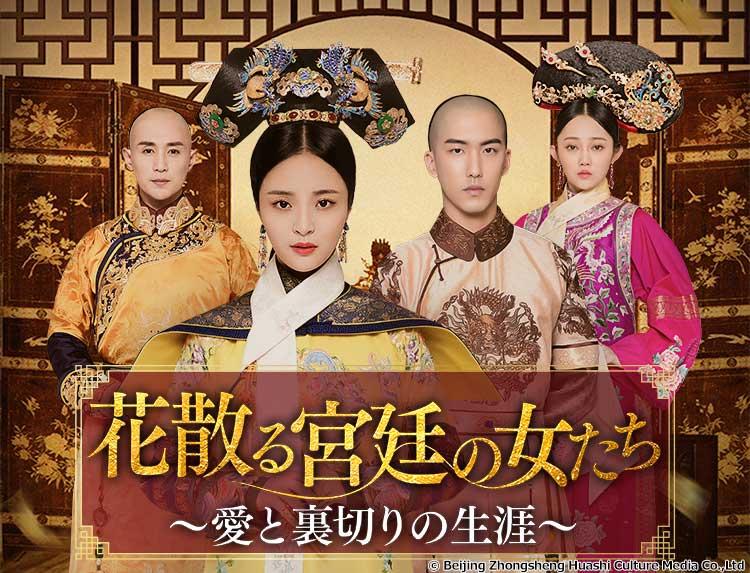 中国ドラマ「花散る宮廷の女たち~愛と裏切りの生涯~」のメインビジュアル