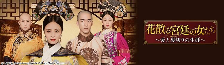中国ドラマ「花散る宮廷の女たち~愛と裏切りの生涯~」メインビジュアル