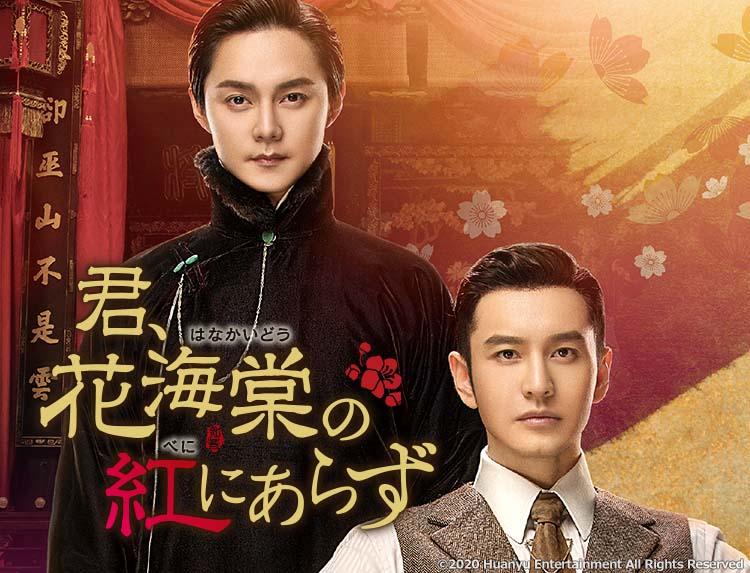 中国ドラマ「君、花海棠の紅にあらず」のメインビジュアル
