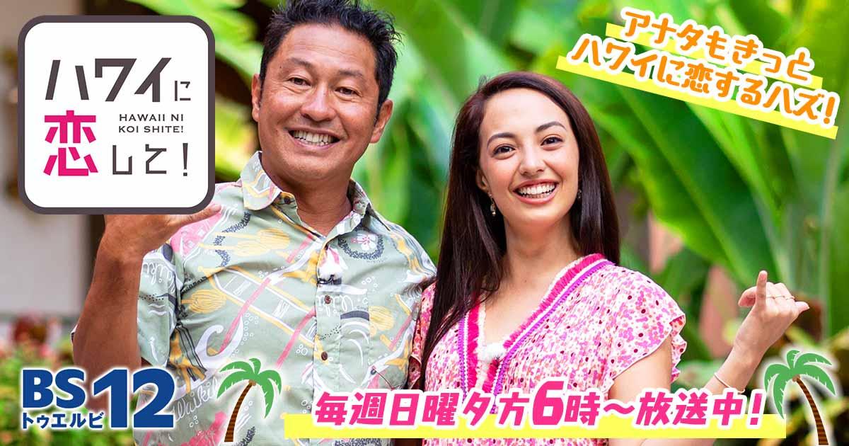 ハワイに恋して!   旅・グルメのテレビ番組   BS無料放送ならBS12(トゥエルビ)