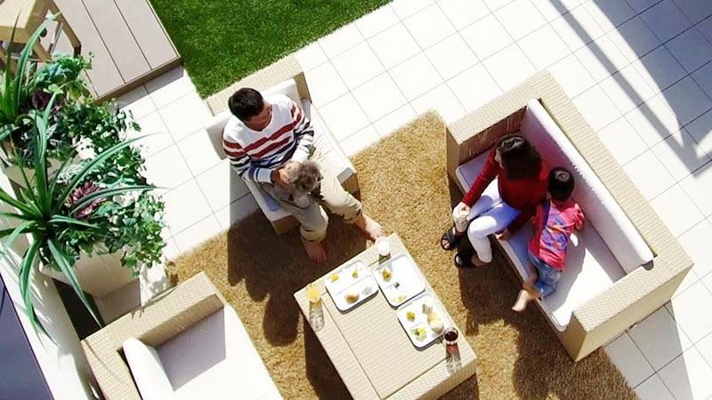 住宅革命 casa sky 屋上は天空のプライベート・リゾート