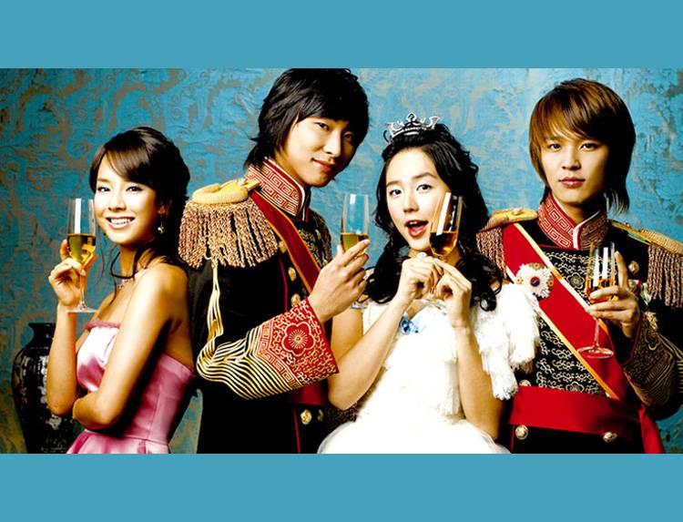 韓国ドラマ「宮~Love in Palace」のメインビジュアル