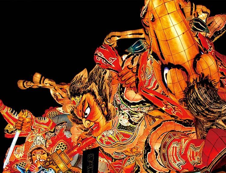 ダイドーグループ日本の祭りのメインビジュアル