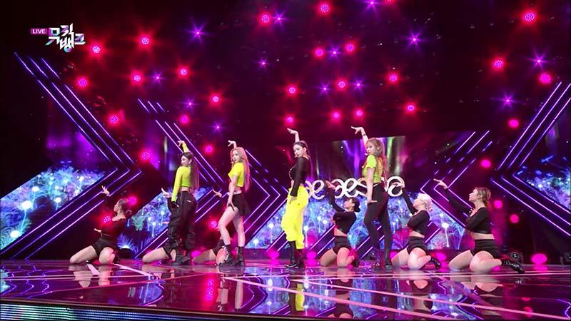 ミュージックバンク#1054(韓国放送2020年11月27日)