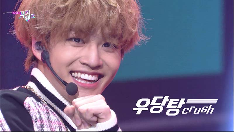 ミュージックバンク#1058(韓国放送2021年1月15日)