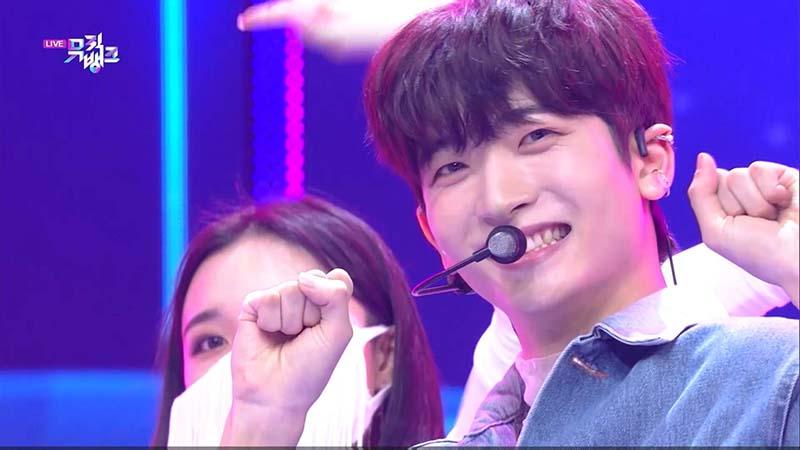 ミュージックバンク#1061(韓国放送2021年2月5日)