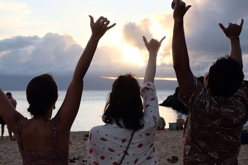 足立梨花のんびり旅inマウイ島!写真&コメント到着 『BS12は12歳!ハワ恋カセット4時間スペシャル』 12月1日(日)夕方6時~よる10時