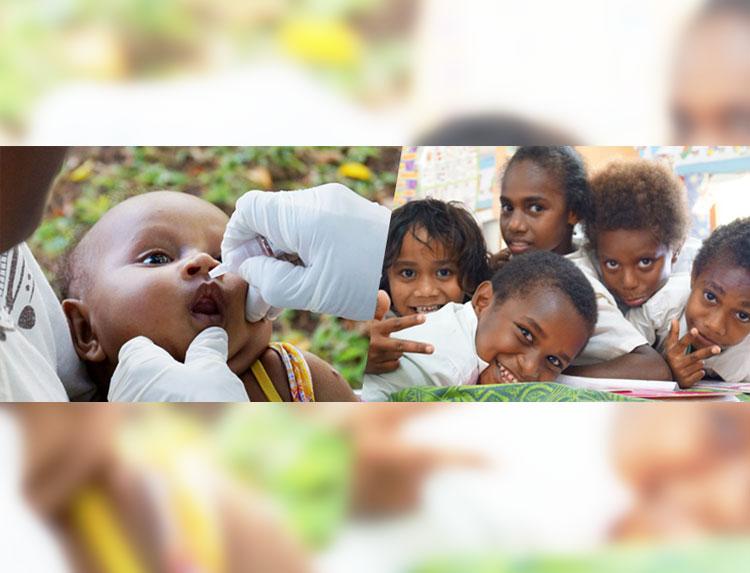 ワンアクション~世界の子どもを救う第一歩~のメインビジュアル