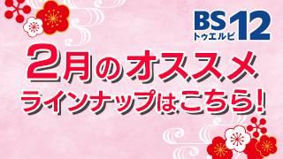 BS12 トゥエルビ2月のオススメ番組はこちら!!のサムネイル