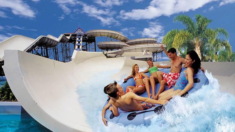 アメリカンサイズのビッグスライダー ウエット・アンド・ワイルド・ハワイ/Wet'n'Wild Hawaii