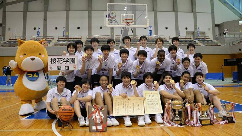 ウインターカップべスト8敗退という無念を晴らし、見事快勝を果たした桜花学園高校