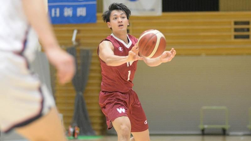 リーグ戦の経験を通して、ディフェンスマンとしての自信を高めた神田選手