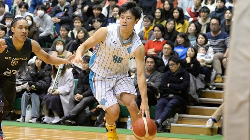 筑波大のキャプテンとしてチームを3年ぶり5回目の優勝に導いた牧隼利