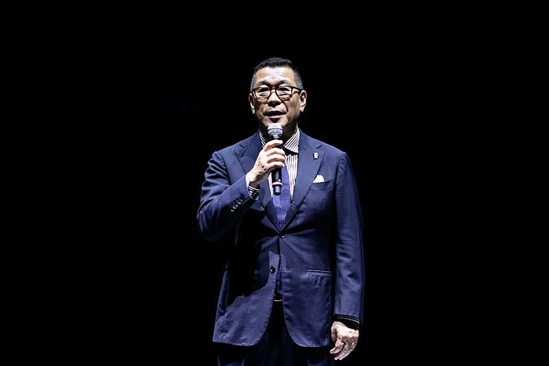 6月末を持ってチェアマンを辞任する大河正明氏(写真は2019-20シーズン開幕戦のもの)