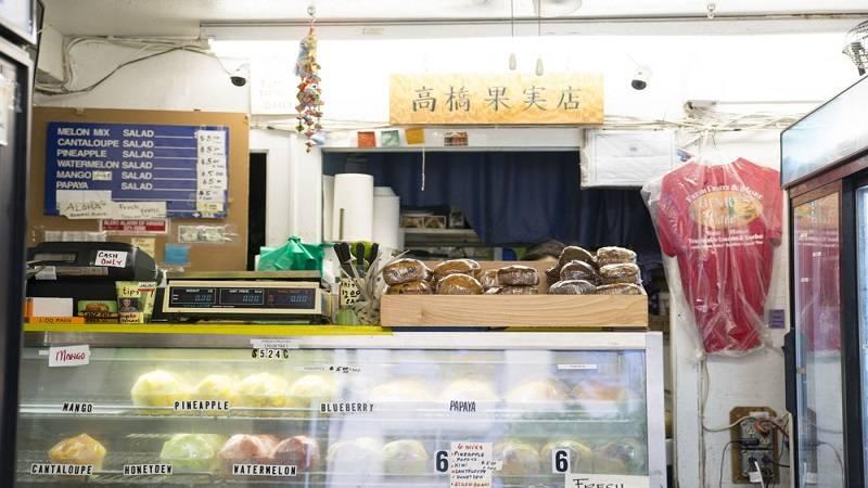 フレッシュフルーツのアイスやソルベを賞味 高橋果実店 ヘンリーズプレイス/Henry's Place