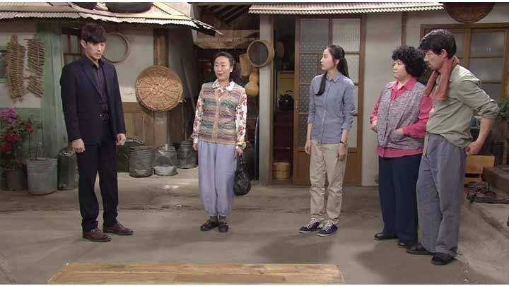 韓国ドラマ「私の心は花の雨」第28話