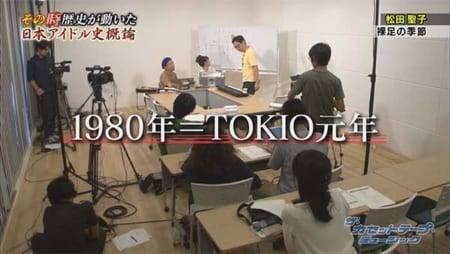 1980年からの元号は「TOKIO」