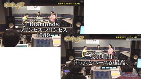 最優秀賞リズムセクション賞「Diamonds」プリンセスプリンセス