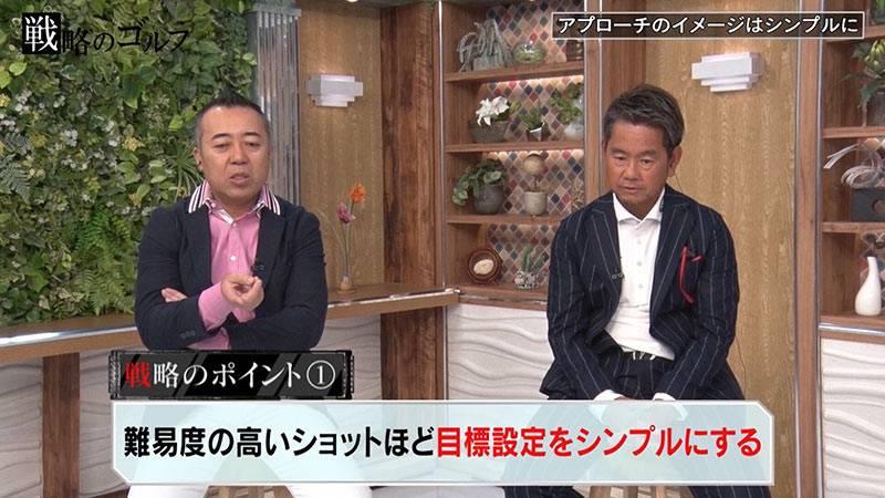 """藤田プロがアドバイス!ゴルゴ松本さんの""""スコアをあげる戦略""""③"""
