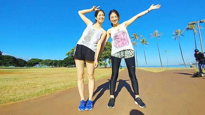 ホノルルマラソンを走って食べて観光しよう!