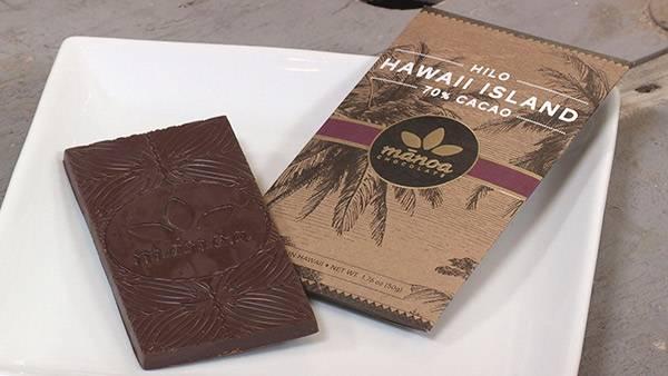 マノア・チョコレート・ファクトリーのチョコレート