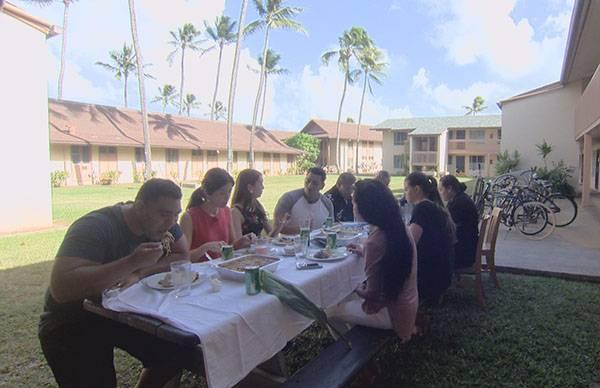 タネさんご家族の食事会