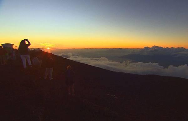 ハレアカラ火山(休火山)
