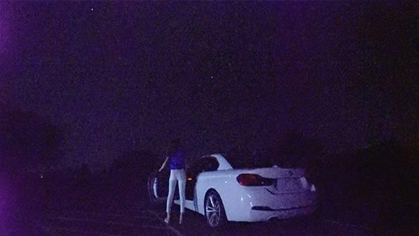 ドライブの帰り道、満天の星を見ることができました。 写真では分かりにくいので、ぜひ現地で見てください!