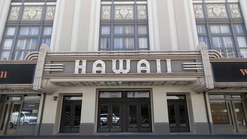 フォトジェニックな外観は街のシンボル ハワイシアターセンター/Hawaii Theater Center