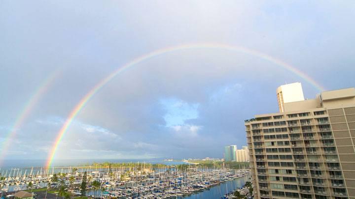 乾季と雨季のあるハワイ。冬の雨季編