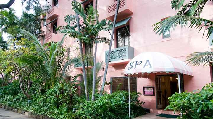 プリンセス気分で楽しみたいピンクのお城のガーデンスパ アバサ ワイキキ スパ Abhasa Waikiki Spa
