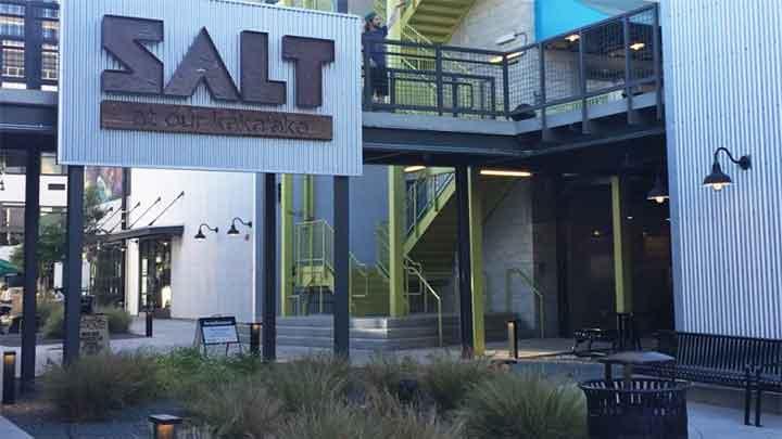 個性的でおしゃれな店が集まる ソルト SALT