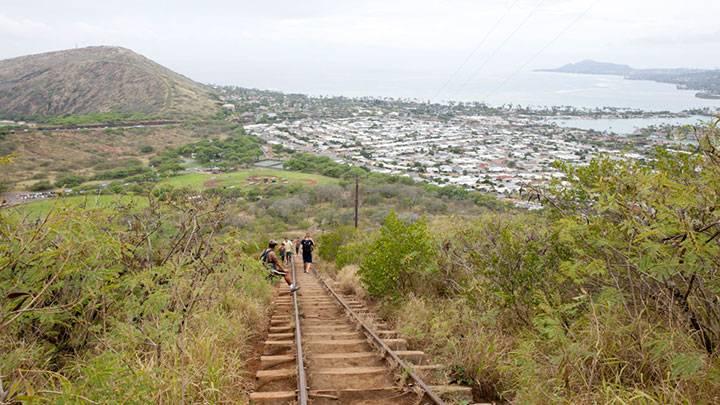 海の絶景 ココ・クレーター・レイルウェイ・トレイル(Koko Crater Railway Trail)