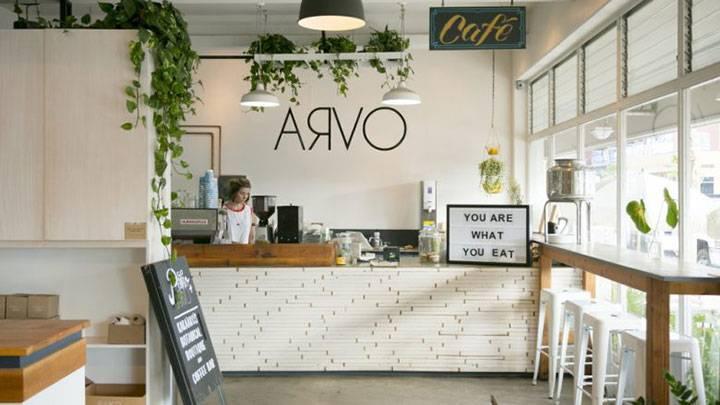 パイコとスペースを共有するオープンサンドが人気のオーストラリア・スタイルのカフェです。