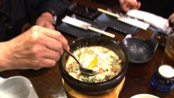 石焼サーモンチャーハン(スープ付き)