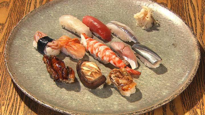 第16話 神楽坂寿司幸「椎茸 歴史を紡ぐ名人の技」