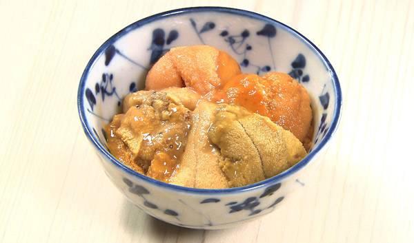 第31話 四谷 鮨わたなべ 「海胆 一期一会の四種饗宴」