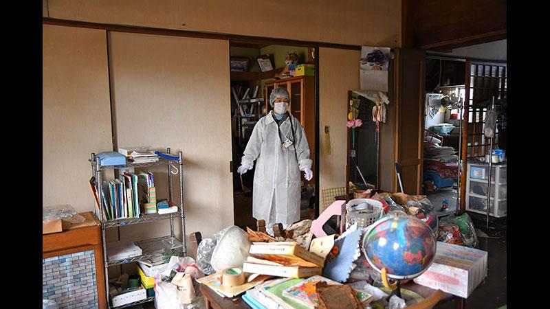 中間貯蔵移設 被災者の家
