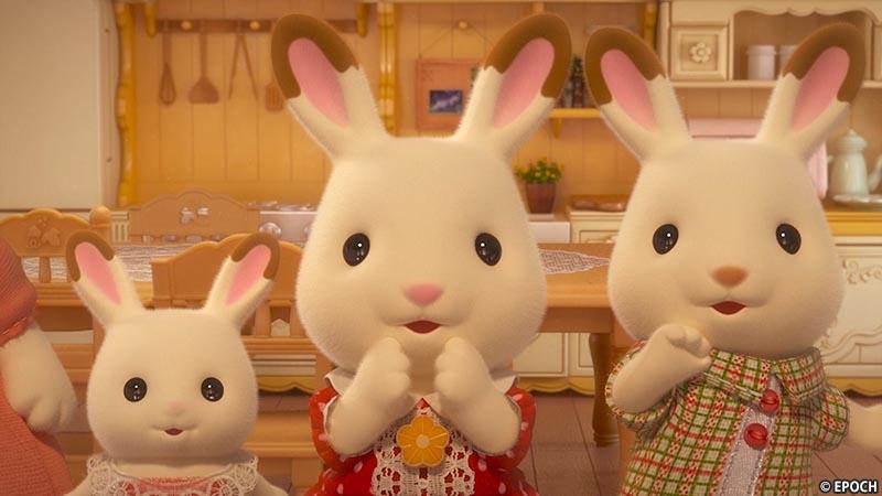 第1話「チョコレート一家のピクニック」