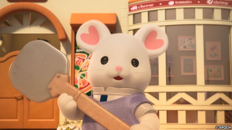 第2話「ドタバタ!たのしいピザ作り」
