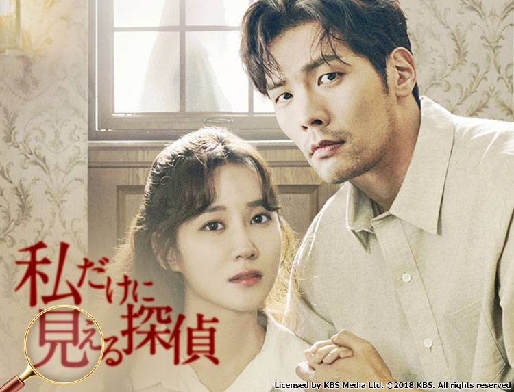 韓国ドラマ「私だけに見える探偵」のメインビジュアル